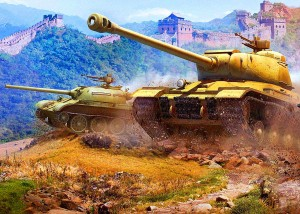 Opłatek na tort WORLD of TANKS WOT 03/30